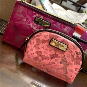 TWO Victoria's Secret make up bags